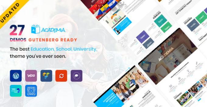 Academia - Education WordPress Theme