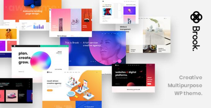 Agency Brook - Agency Business Creative WordPress Theme