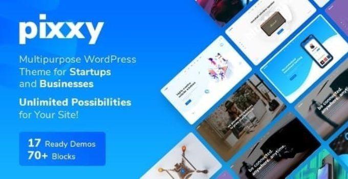 App, Software & SaaS Startup WordPress - Pixxy Software & Saas, App