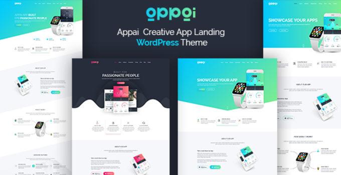 Appai App Landing WordPress Theme