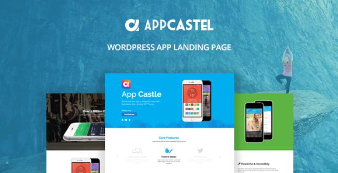 AppCastle - WordPress App Landing Page