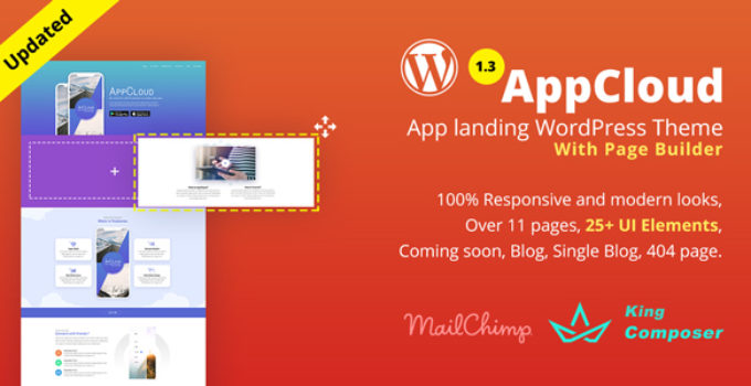 AppCloud | App Landing WordPress Theme