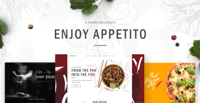 Appetito - Theme for Fast Food Restaurants and Cafés