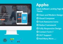 Appho - App & Software Landing Page WordPress Theme