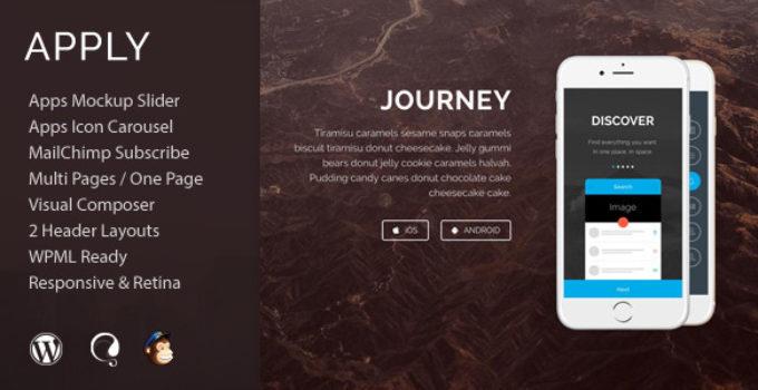 Apply - App Agency WordPress Theme