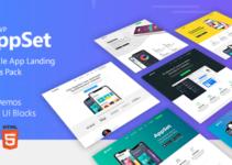 Appset - App landing WordPress Theme