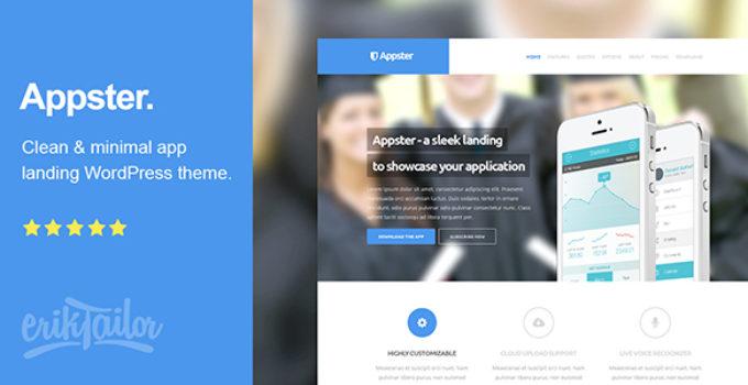 Appster - Ultimatel App Landing Page WordPress Theme