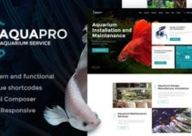 AquaPro | Aquarium Services & Online Store WordPress Theme