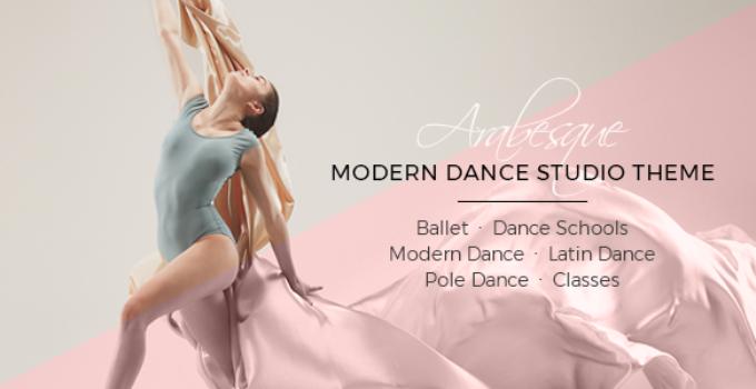 Arabesque - Modern Ballet School and Dance Studio Theme