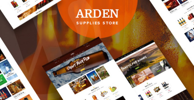 Arden - Modern Brewery & Pub WordPress Theme