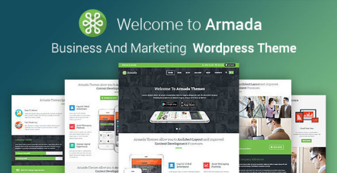 ARMADA - Business And Marketing WordPress Theme