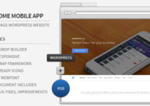 Awesome App - Responsive Parallax WordPress Showcase