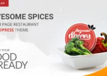 Awesome Spice - Restaurant / Cafe WordPress Theme