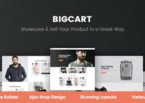 Bigcart - Clean, Modern WordPress Theme for WooCommerce