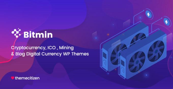 BitMin - ICO & Cryptocurrency WP Theme