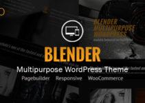 Blender WordPress Portfolio Theme