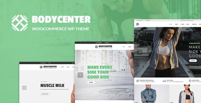 BodyCenter - Gym, Fitness WooCommerce WordPress Theme