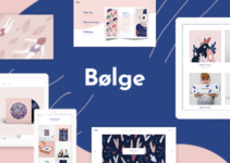 Bolge - Creative Portfolio for Designers and Artists