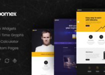 Bomex - Cryptocurrency & Bitcoin WordPress Theme