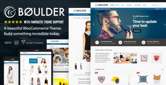 Boulder - Multi-Purpose WooCommerce Theme