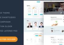 Bplus: Business & Consultancy WordPress Theme