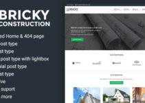 Bricky: A Construction & Builders WordPress Theme