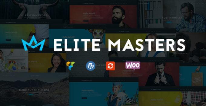 Business Multi-Purpose WP Theme   EliteMasters