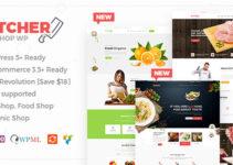 Butcher - Meat, Organic Shop Woocommerce WordPress Theme