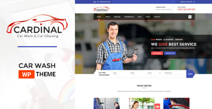 Car Dinal - Car Wash & Workshop WP Theme