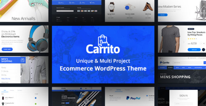 Carrito - WooCommerce WordPress Theme FREE Download | wpnull24
