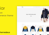Caviar - Ajax Option Woocommerce Theme