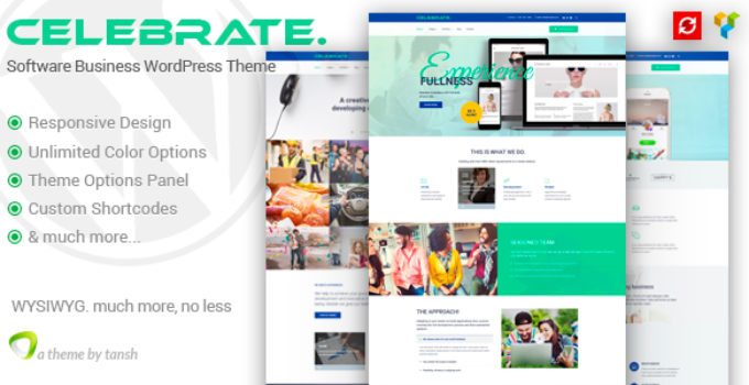 Celebrate - Startup Business Theme