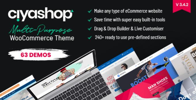 CiyaShop - Responsive Multi-Purpose WooCommerce WordPress Theme