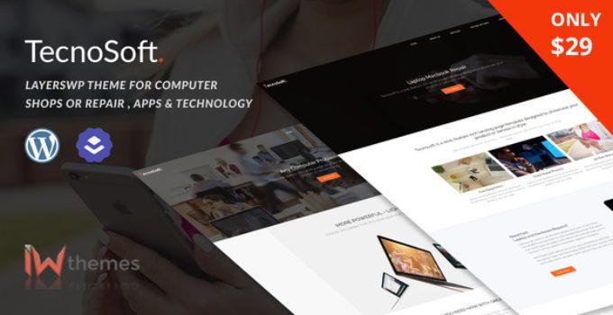 Computer & Phone Repair, Technology WordPress theme | TecnoSoft