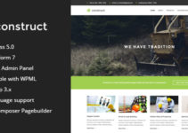 Construct - Construction & Business WordPress Them