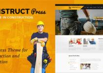 Construct Press - Construction and Renovation WordPress Theme