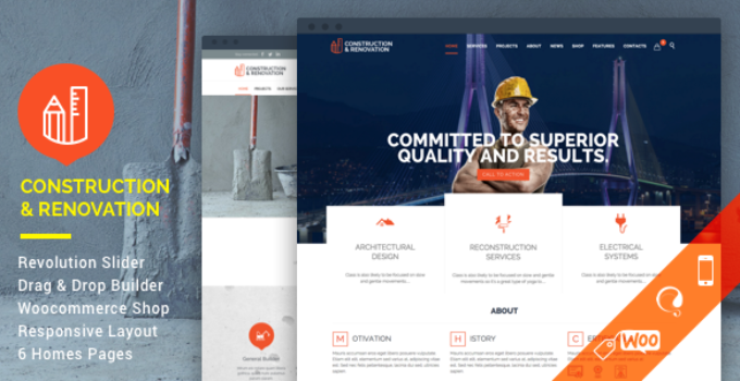 Construction - Construction Building WordPress