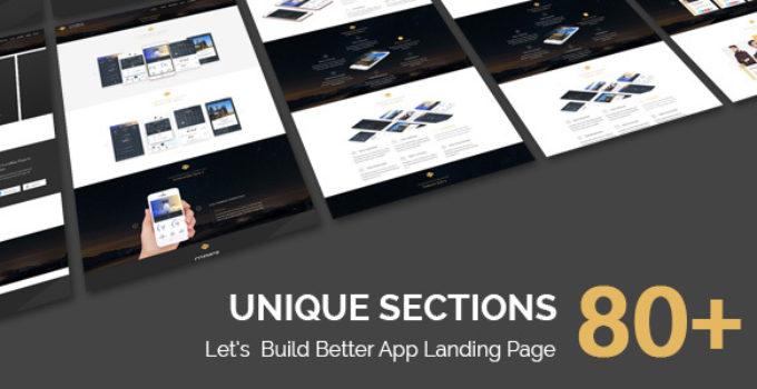 Cosmos - One Page App WordPress Theme