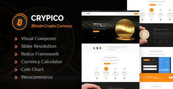 Crypico - Crypto Currency WordPress Theme