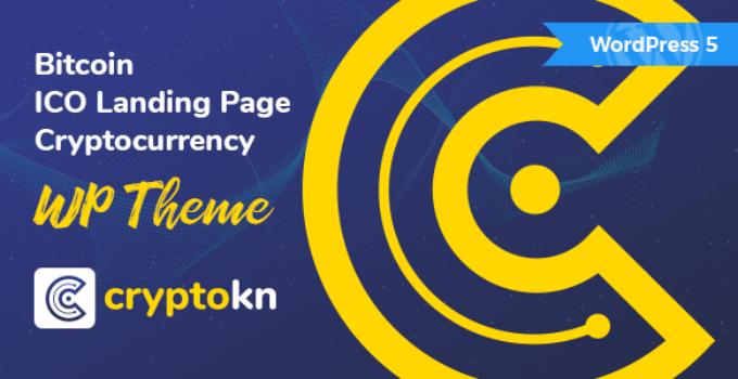 Cryptokn - ICO Landing Page & Cryptocurrency WordPress Theme
