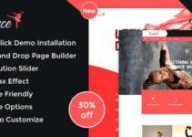 Dance Academy - Dance Studio WordPress Theme