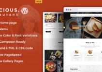 Delicious - Table Booking / Restaurant WordPress Theme