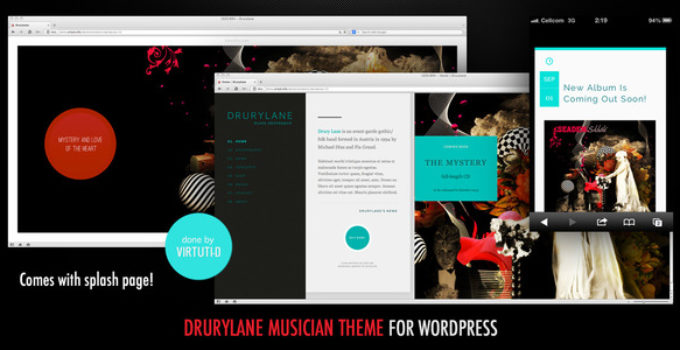 Drury Lane-Theme For Musicians And Bands + Intro
