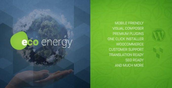 ECO Energy   Ecology & Alternative Energy Company WordPress Theme