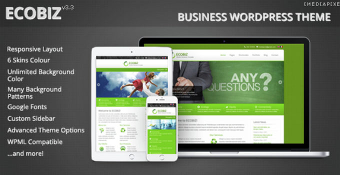 ECOBIZ - Business WordPress Theme