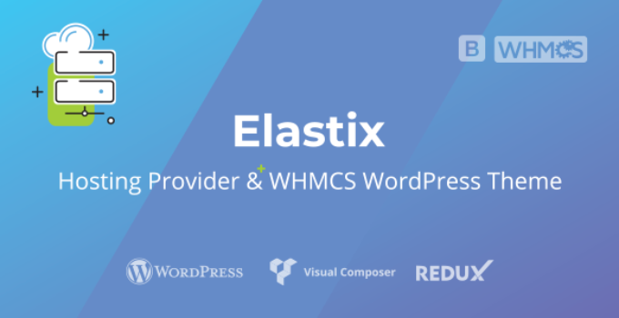 Elastix - Hosting Provider & WHMCS WordPress Theme