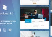Elementor Corporate Business WordPress Theme - Zayne
