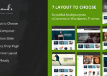 Elgrande - 7 Beautiful Layouts eCommerce Theme