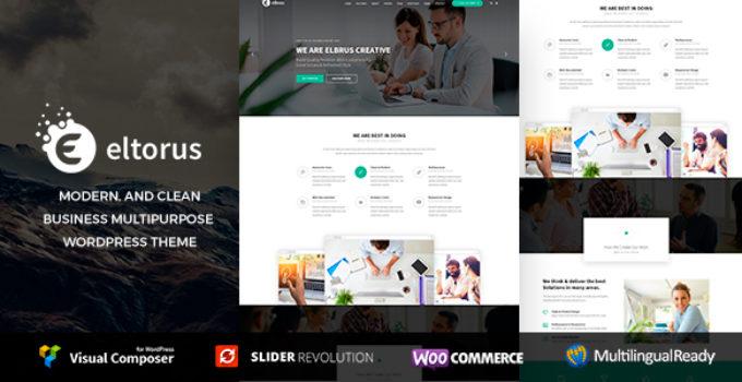 Eltorus - Business Theme