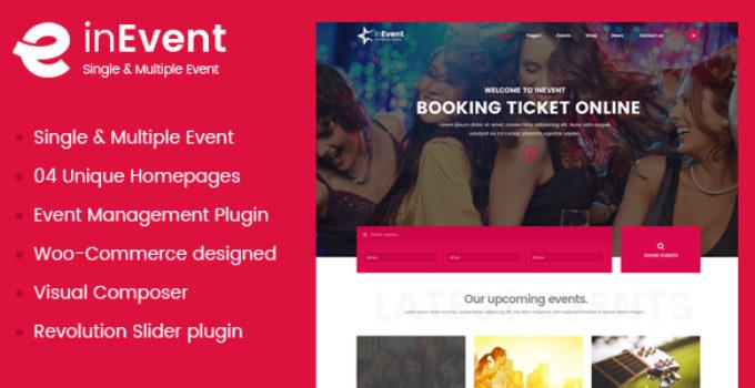 Event Management - Multi-Purpose Event, Conference WordPress Theme